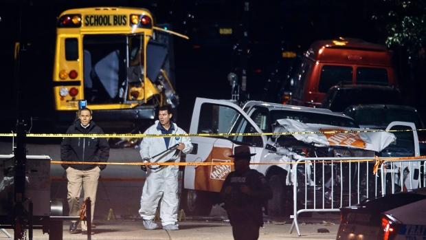 INVESTIGATORS STILL LOOKING INTO NEW YORK CITY TRUCK RAMPAGE