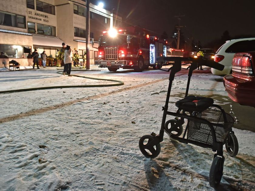 DEADLY FIRE AT SENIORS HOME IN EDMONTON