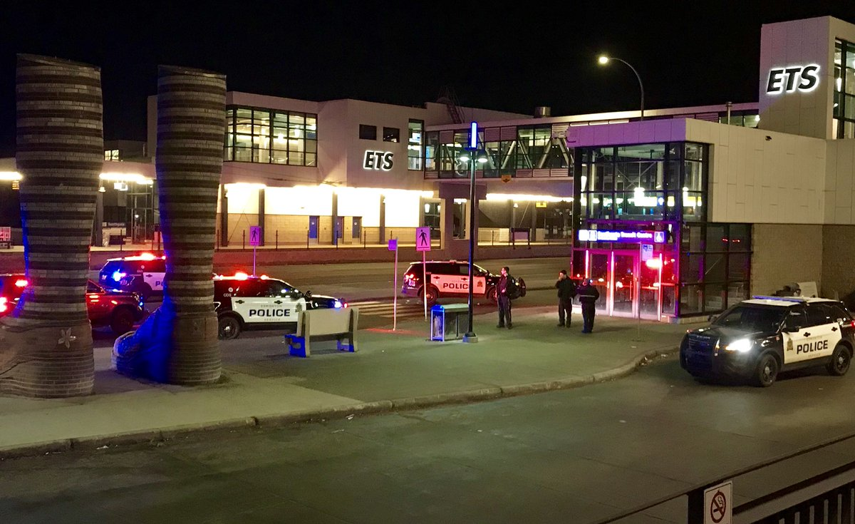 MAN ARRESTED FOLLOWING INCIDENT AT SOUTHGATE TRANSIT CENTRE