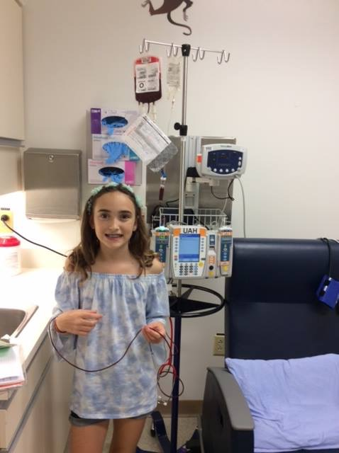 BONE MARROW MATCH FOUND FOR ST. ALBERT GIRL WITH APLASTIC ANEMIA