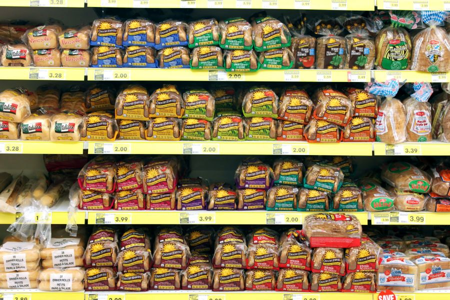 COMPETITION BUREAU SAYS AT LEAST SEVEN GROCERY CHAINS INVOLVED IN ALLEGED BREAD PRICE FIXING SCHEME