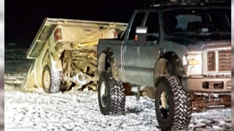 RCMP WARNING MOTORISTS TO NOT DRIVE VEHICLES ONTO ICE COVERED RIVERS