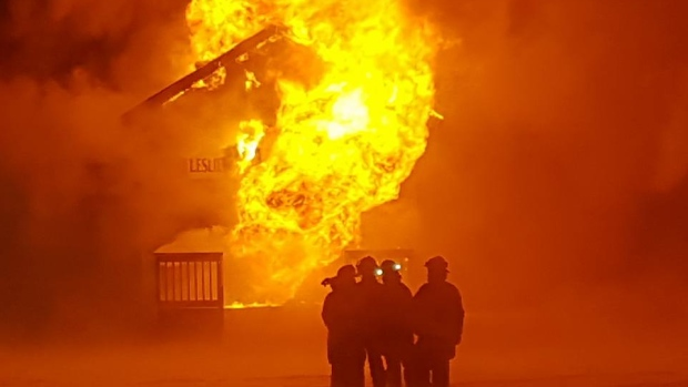 17 YEAR OLD BOY CHARGED IN LESLIEVILLE FIRE