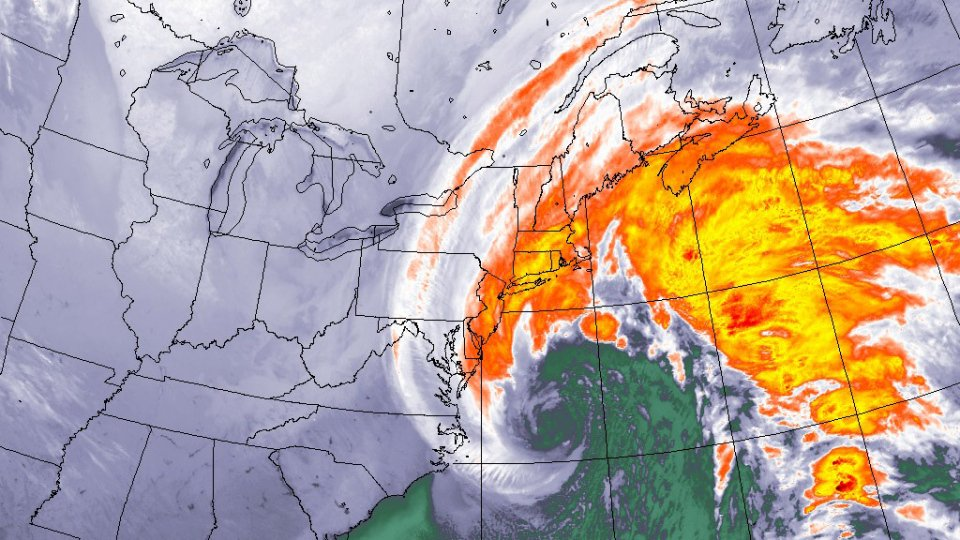 BOMB CYCLONE STILL MOVING IN
