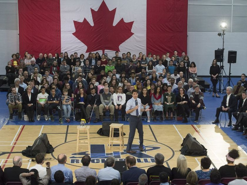 PRIME MINISTER IN EDMONTON FOR A TOWNHALL THIS WEEK