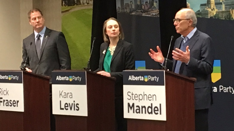ALBERTA PARTY LEADERSHIP DEBATE BRINGS UP THE IDEA OF A PST