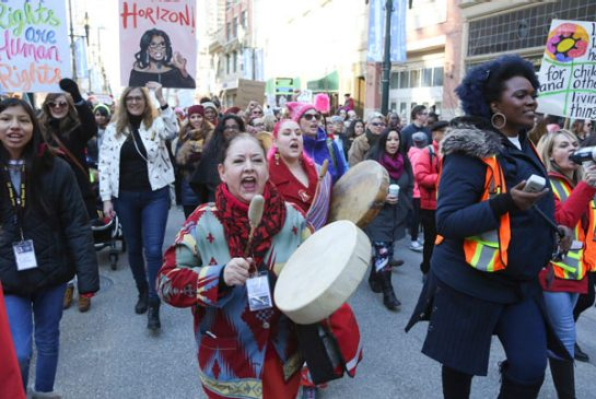 WOMENS MARCHES LEAD TO A DIFFERENCE OF OPINION AMONG SOME POLITICIANS