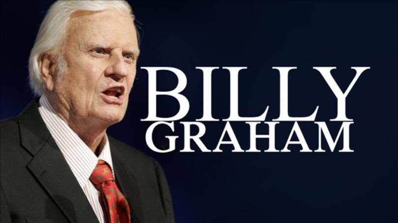 EVANGELIST BILLY GRAHAM HAS PASSED AWAY