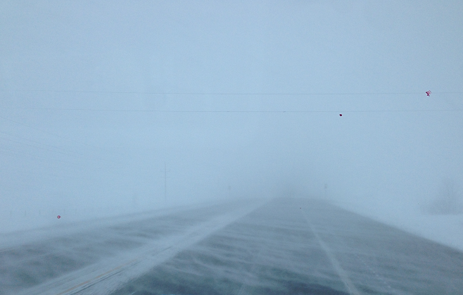 HORRIBLE HIGHWAY CONDITIONS RED DEER AND SOUTH