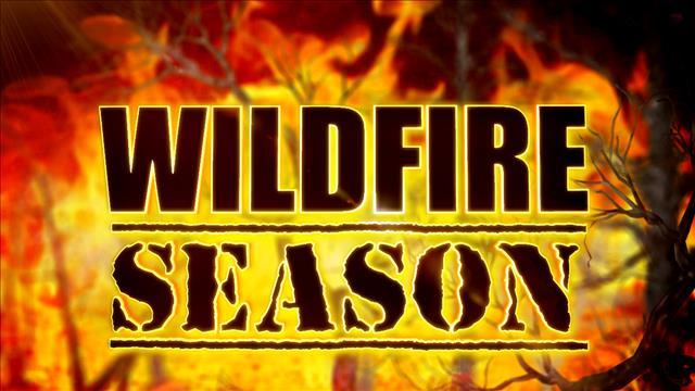 WILDFIRE SEASON FLARES UP ON THURSDAY