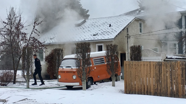 HOUSE FIRE IN WEST EDMONTON