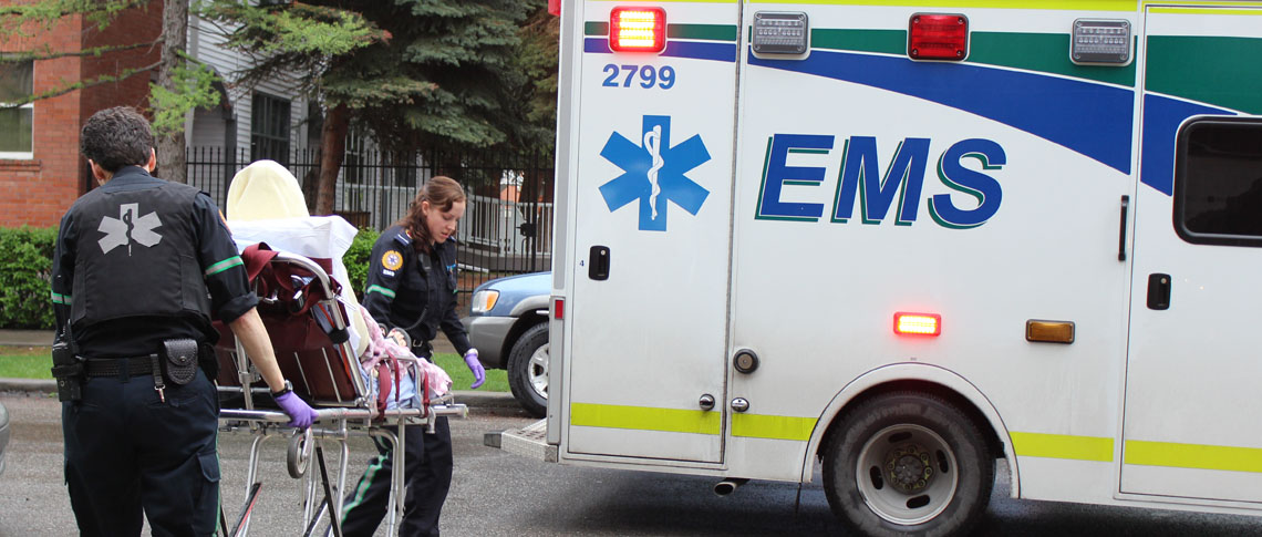 PARAMEDICS UNION SAYS ALBERTA'S AMBULANCE SYSTEM--IS ON THE BREAKING POINT