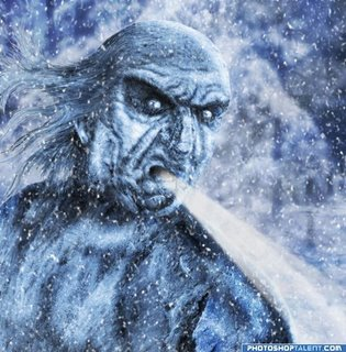 OLD MAN WINTER IS READY TO COME CRASHING IN AGAIN