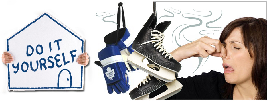 NEW SURVEY SAYS THE MAJORITY OF AMATEUR HOCKEY PLAYERS--WASH THEIR EQUIPMENT ONCE A YEAR OR LESS