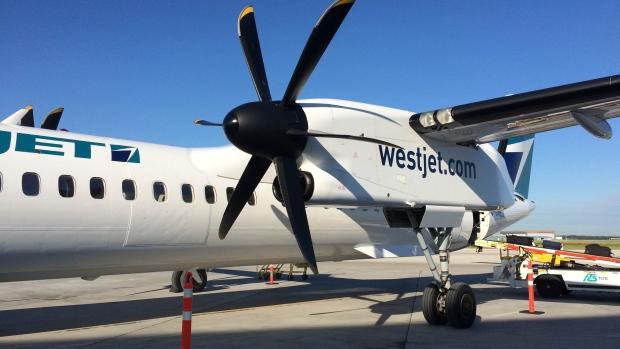 WESTJET ENCORE FLIGHT FORCED TO MAKE EMERGENCY LANDING IN NANAIMO, BC
