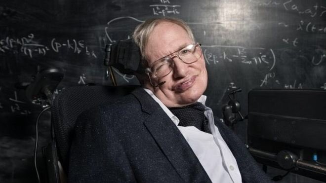 PHYSICIST STEPHEN HAWKING--DEAD AT 76
