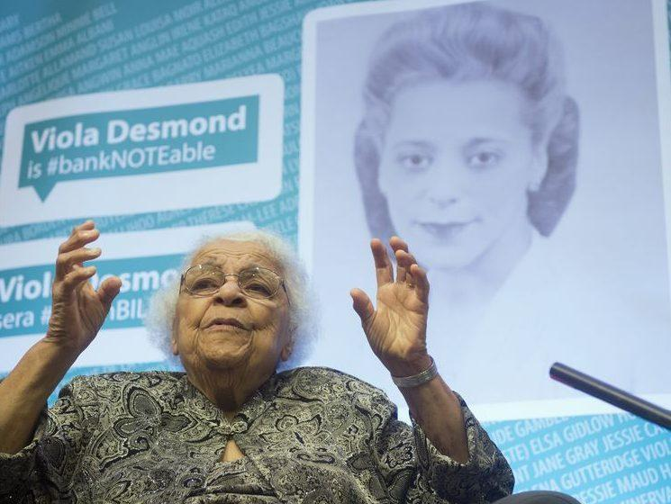 VIOLA DESMOND HONOURED ON NEW 10 DOLLAR BILL