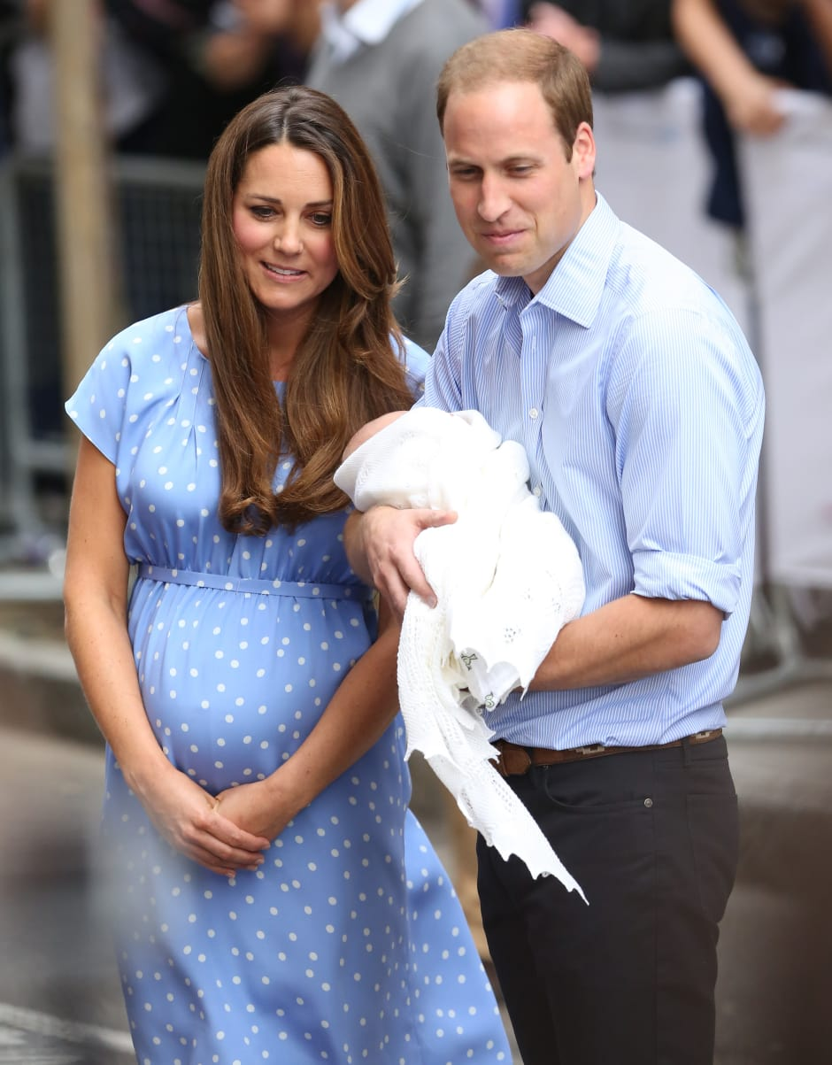 DUCHESS OF CAMBRIDGE GOES INTO LABOUR