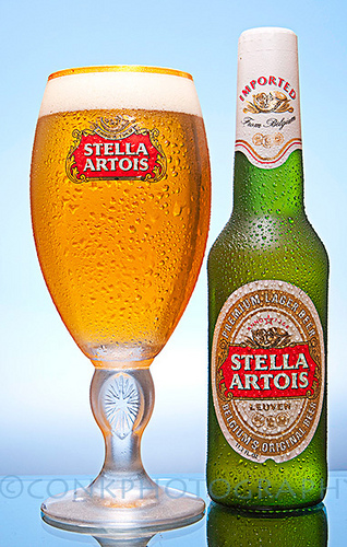 STELLA ARTOIS RECALLING SOME OF ITS BEER