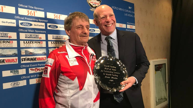 KEVIN MARTIN INDUCTED INTO THE WORLD CURLING HALL OF FAME