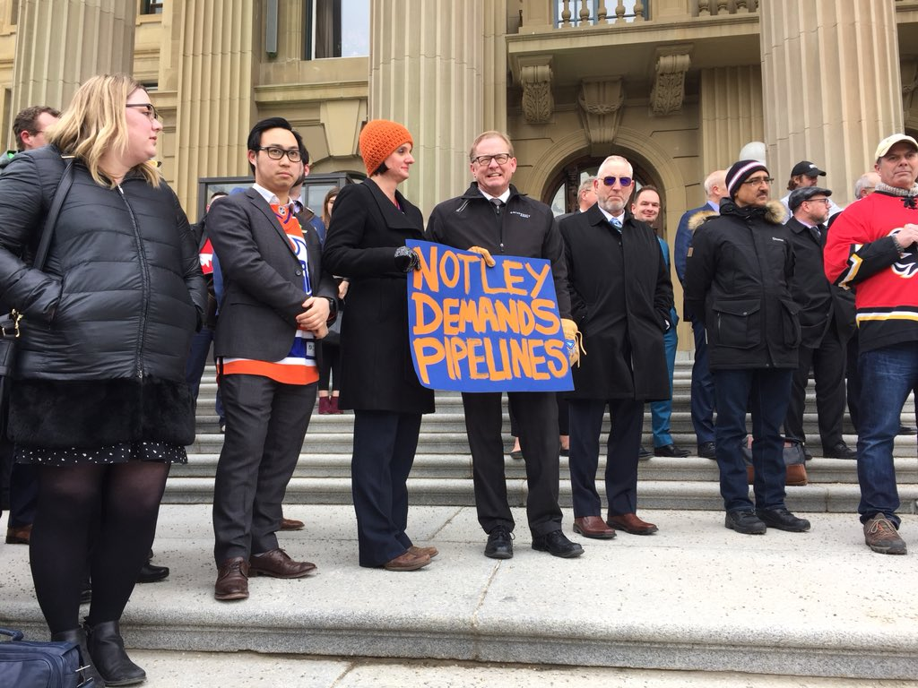 THEY RALLIED ON THE STEPS OF THE LEGISLATURE YESTERDAY
