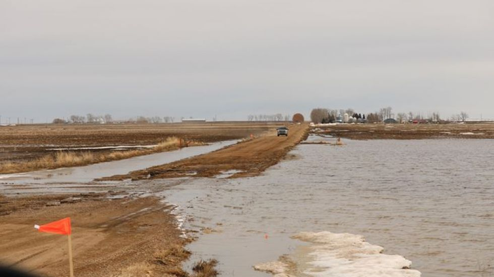 SNOW MELT CAUSING SOME OF THE WORST SPRING FLOODING IN THE PROVINCE IN 20 YEARS