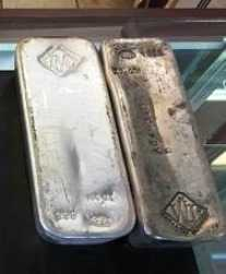 EDMONTON POLICE LOOKING FOR STOLEN SILVER BARS