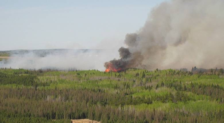 BIG FIRES IN SOME AREAS OF THE PROVINCE AS THINGS RAPIDLY DRY OUT