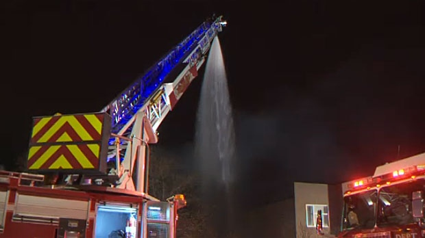 MAJOR BLAZE OVERNIGHT IN CALGARY