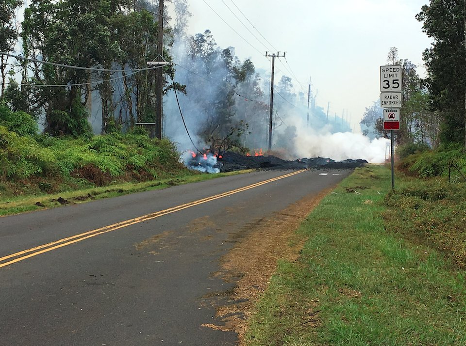 DANGEROUS VENTS OPENING UP ON HAWAII'S BIG ISLAND
