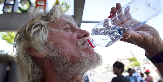 EDMONTON'S BISSELL CENTRE NEEDS DONATIONS OF BOTTLED WATER