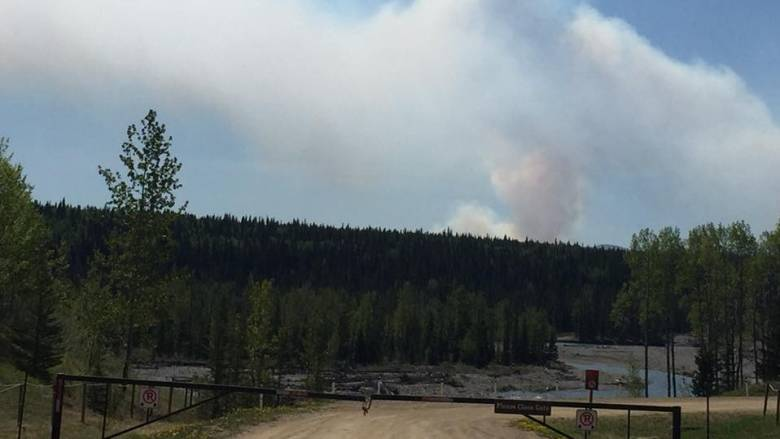 BRAGG CREEK RESIDENTS ON EVACUATION ALERT AS WILDFIRE RAGES