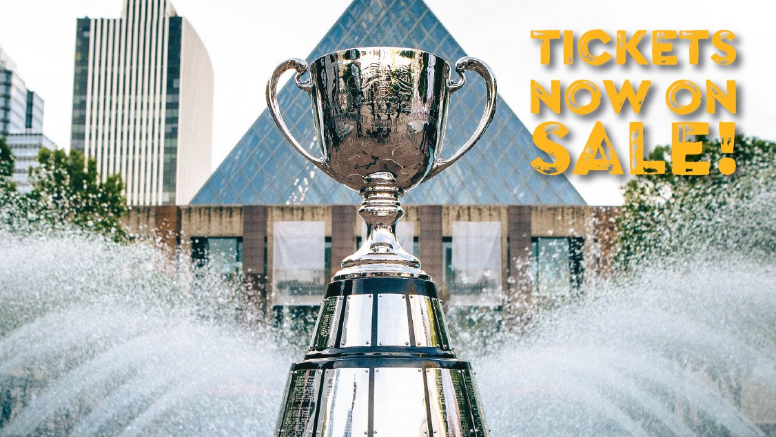 GREY CUP TICKETS GO ON SALE TODAY