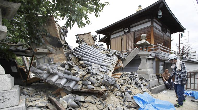 JAPAN RATTLED BY QUAKE