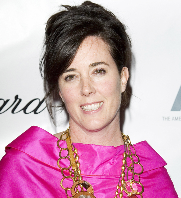 FASHION DESIGNER KATE SPADE DEAD AT 55