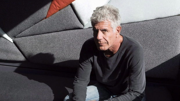 CELEBRITY CHEF ANTHONY BOURDAIN---DEAD AT 61