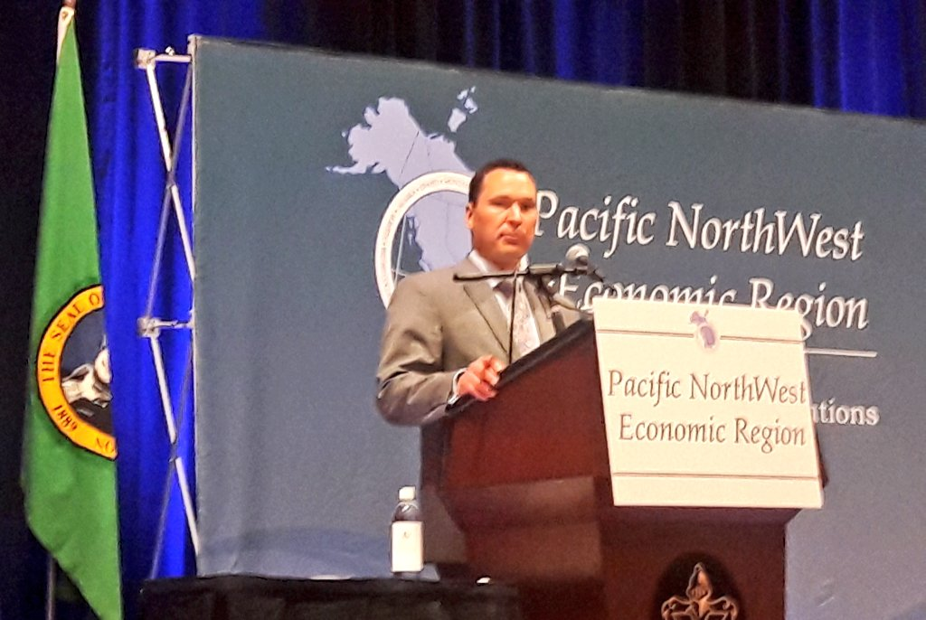 PROVINCIAL TRADE MINISTER IN WASHINGTON STATE