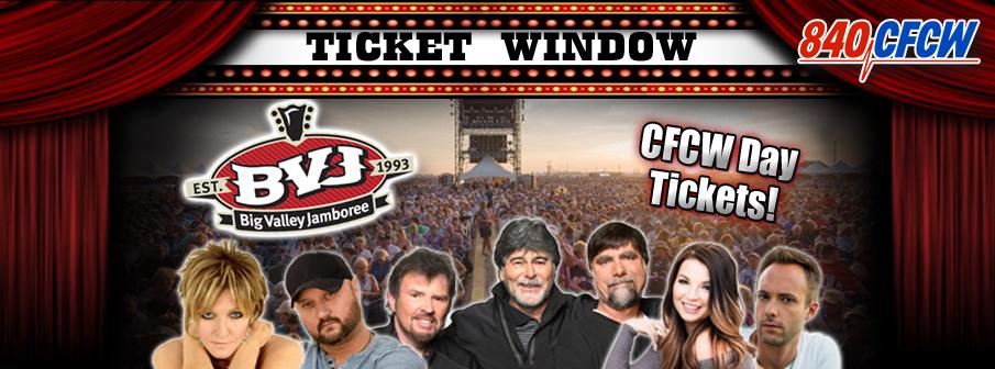 CFCW Ticket Window