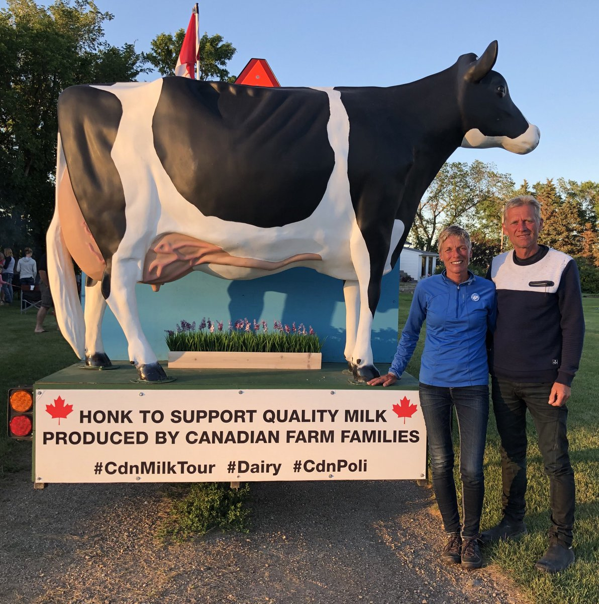 ONTARIO DAIRY COUPLE ON CROSS CANADA TOUR INVOLVED IN TRAGIC COLLISION