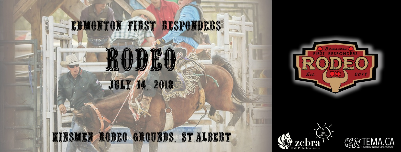 "FIRST ANNUAL ""EDMONTON FIRST RESPONDERS RODEO""  HAPPENING THIS SATURDAY"