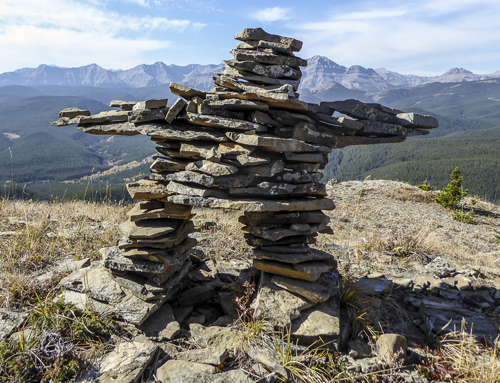 STOP BUILDING INUKSHUKS IN JASPER NATIONAL PARK