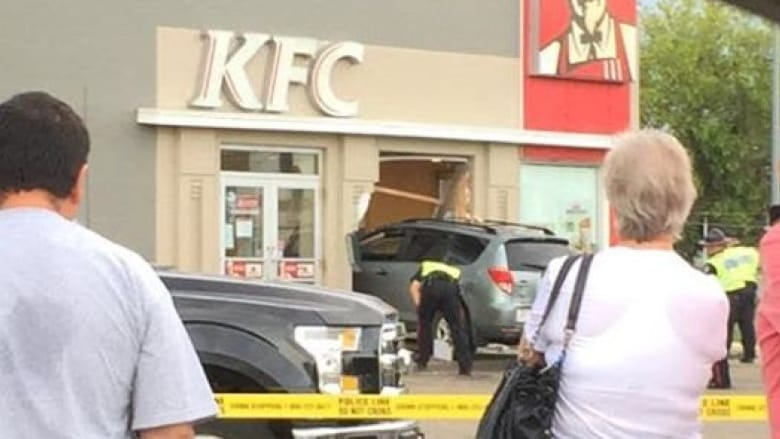 SUSPECT IN KFC RESTAURANT RAMMING CHARGED WITH ATTEMPED MURDER