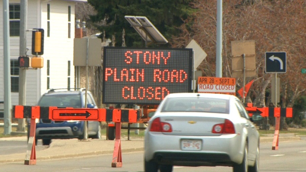 CITY OF EDMONTON MULLING OVER PLANS FOR STONY PLAIN ROAD