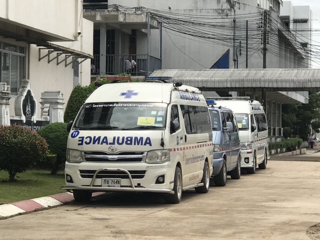 MORE BOYS RESCUED TODAY FROM CAVE IN THAILAND