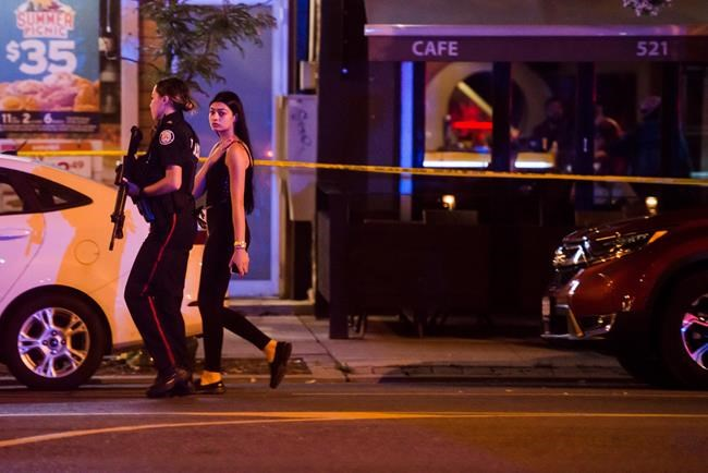 THREE PEOPLE DEAD IN MASS SHOOTING IN EAST TORONTO LAST NIGHT
