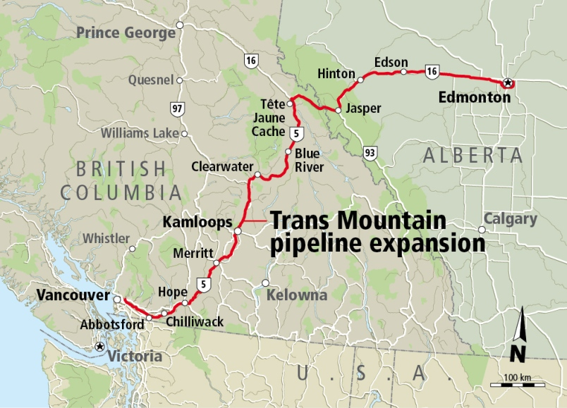 SOME WORK STARTING ON TRANSMOUNTAIN PIPELINE EXPANSION