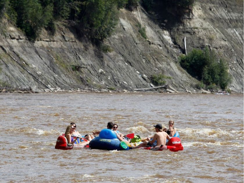 ADVISORIES IN PLACE FOR SOME ALBERTA RIVERS