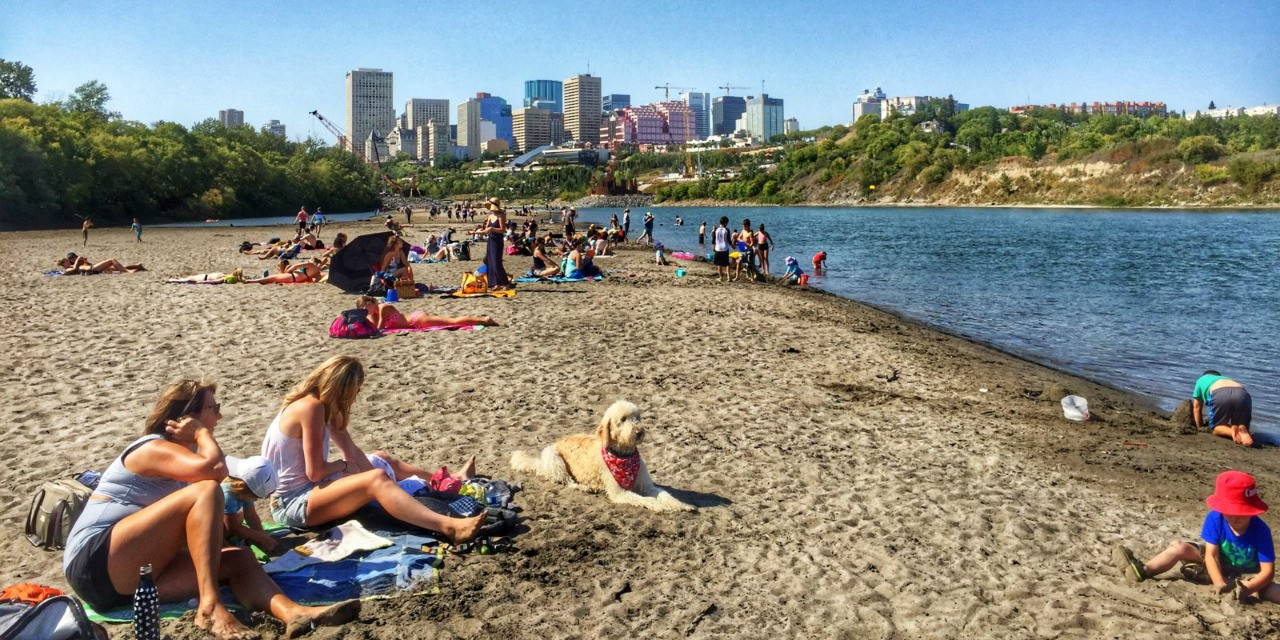 SOME NEW RULES FOR EDMONTON'S ACCIDENTAL BEACH
