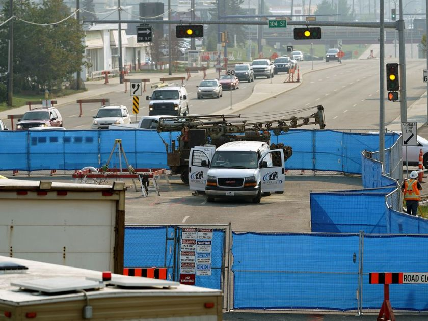 """THE ALLENDALE ROAD """"VOID""""---IS THE SIZE OF 120 TRUCK LOADS OF CONCRETE"""