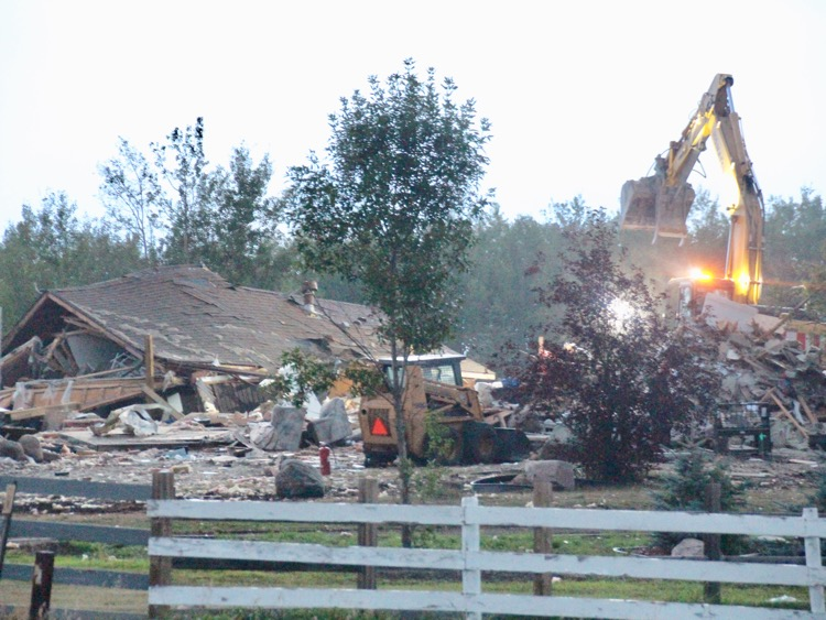 DEADLY HOUSE EXPLOSION